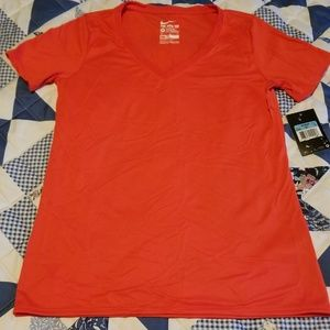 Nike Tops - Womens Red Dri-Fit Shirt Size Medium